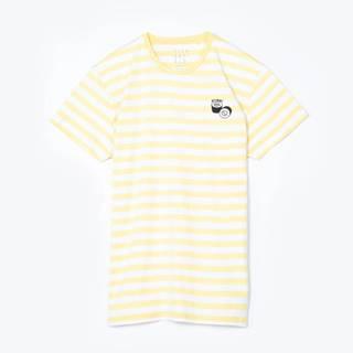 Pruhované tričko s výšivkou