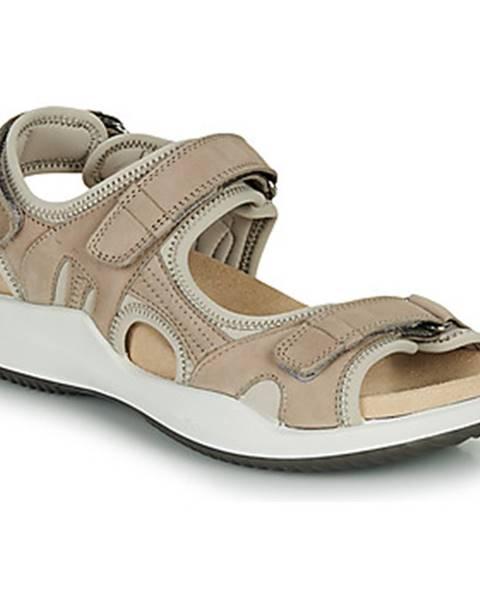 Béžové sandále Romika