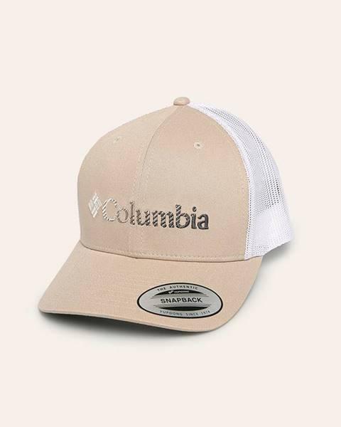 Béžová čiapka Columbia