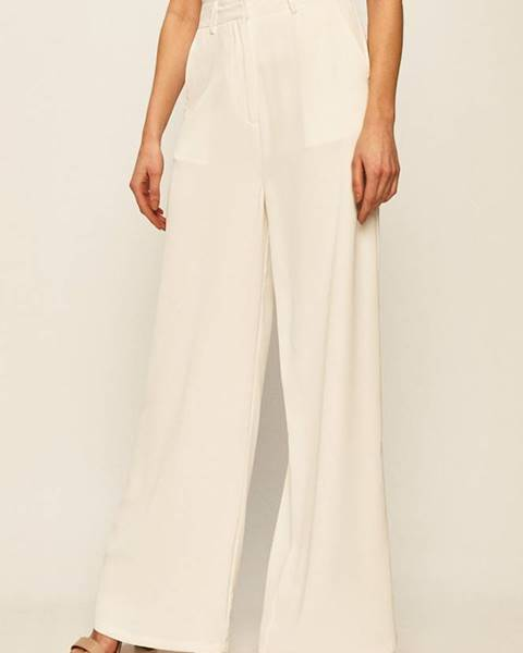 Biele nohavice Glamorous