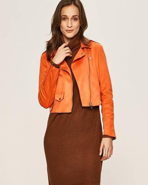 Oranžová bunda Only