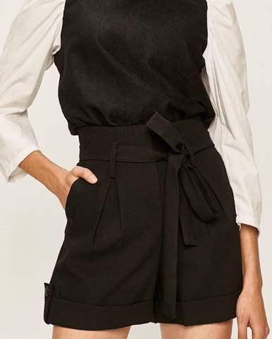 Čierne šortky Answear