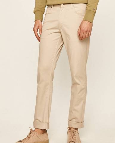 Béžové nohavice Wrangler