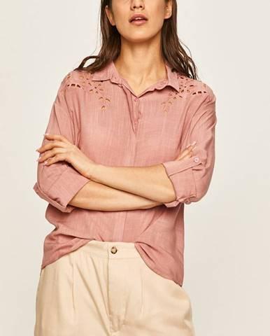 Ružová košeľa Answear