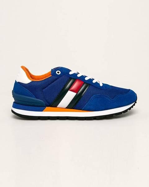 Modré topánky Tommy Jeans