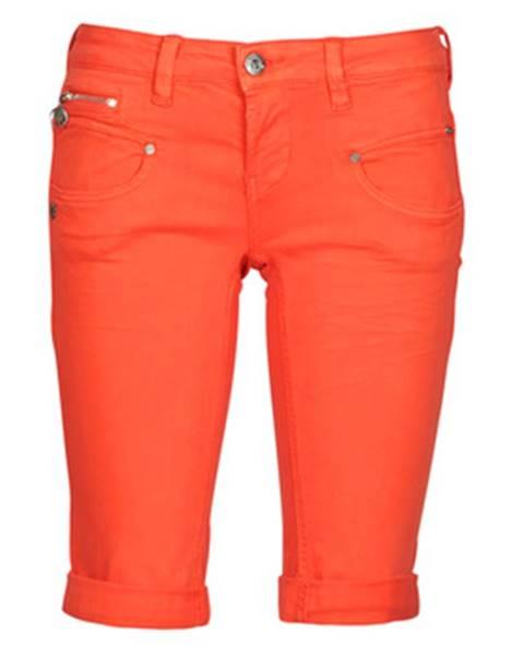 Oranžové šortky Freeman T.Porter