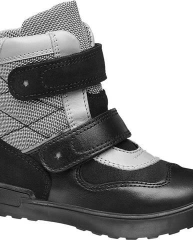 Čierne zimná obuv Bartek