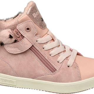 Deichmann - Ružové členkové tenisky Bench