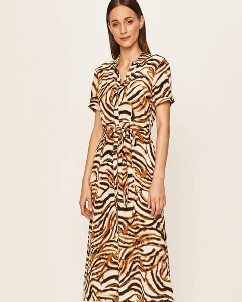 Hnedé šaty Vero Moda