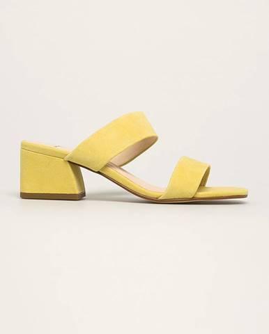 Žlté sandále Vagabond