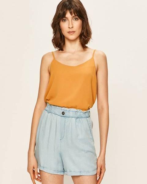 Oranžové tričko Only