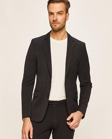Tmavomodré sako Tailored & Originals