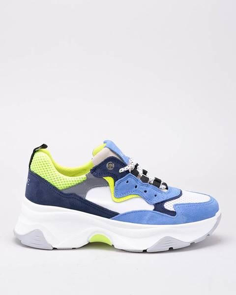 Modré topánky GOE
