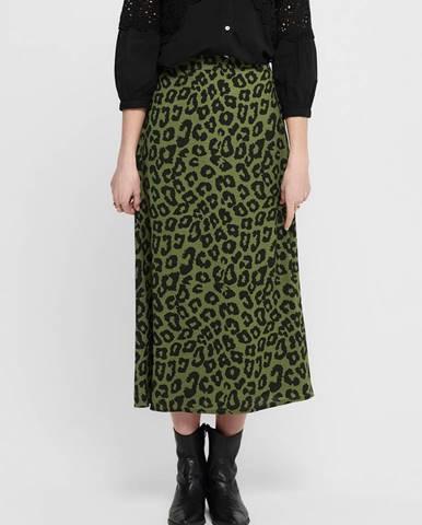 Zelená sukňa Jacqueline de Yong