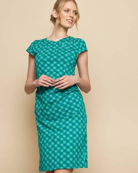 Tyrkysové šaty Tranquillo