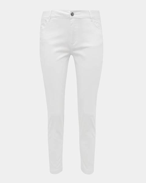 Biele nohavice zoot baseline