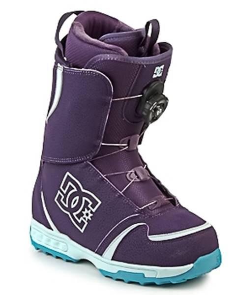 Fialové topánky DC Shoes