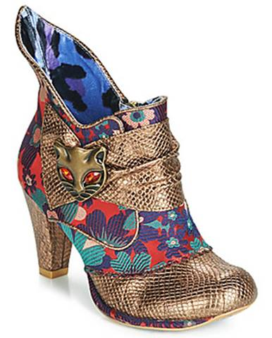 Zlaté topánky Irregular Choice