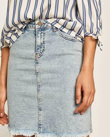 Modrá sukňa Answear