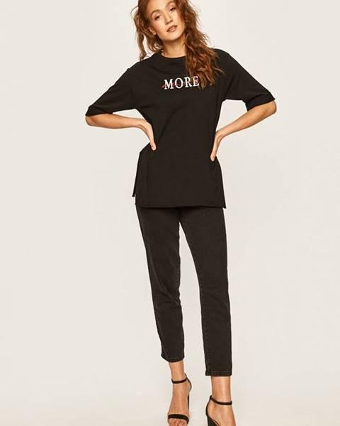 Čierne tričko Answear