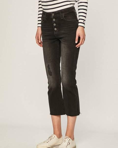 Čierne rifle Tommy Jeans