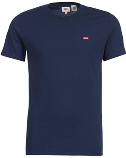 Modré tričko Levis