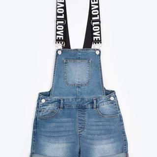 Denimové šortky na traky