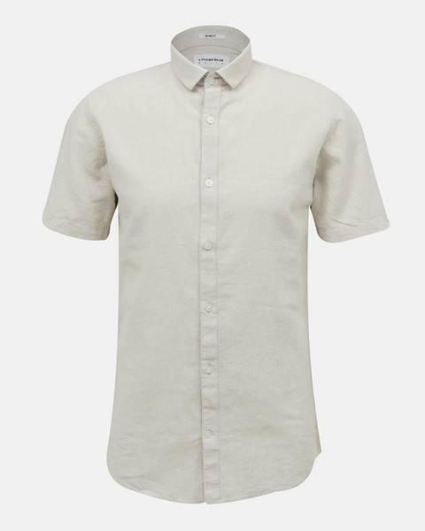 Béžová košeľa Lindbergh