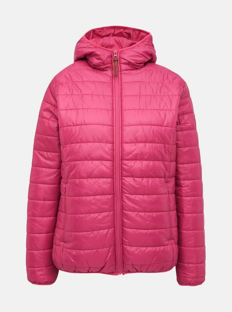 SAM 73 Rúžová dámska vodeodpudivá prešívaná bunda SAM 73