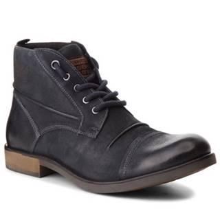 Šnurovacia obuv Lasocki for men MI16-213543 nubuk,koža(useň) lícová