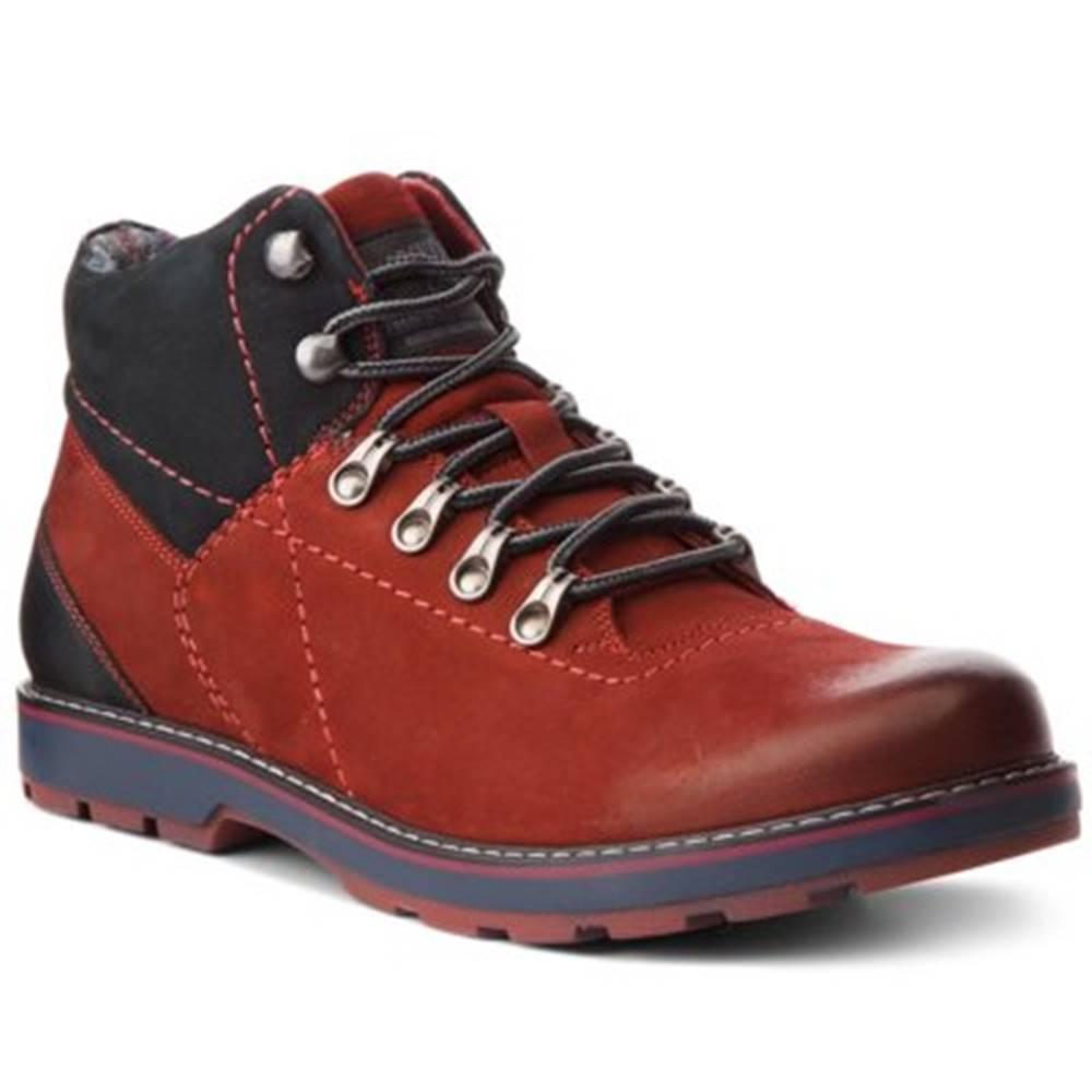 Lasocki for men Šnurovacia obuv Lasocki for men MI07-A355-A206-01 nubuk,koža(useň) lícová