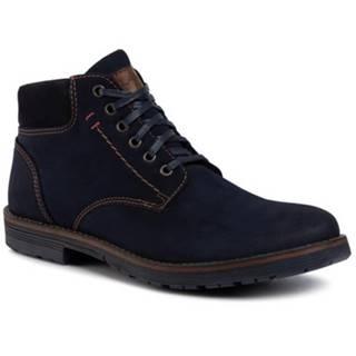Šnurovacia obuv Lanetti MBS-ORKAN-03 koža ekologická