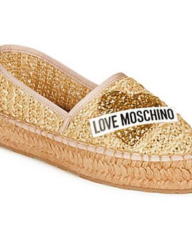 Espadrilky Love Moschino