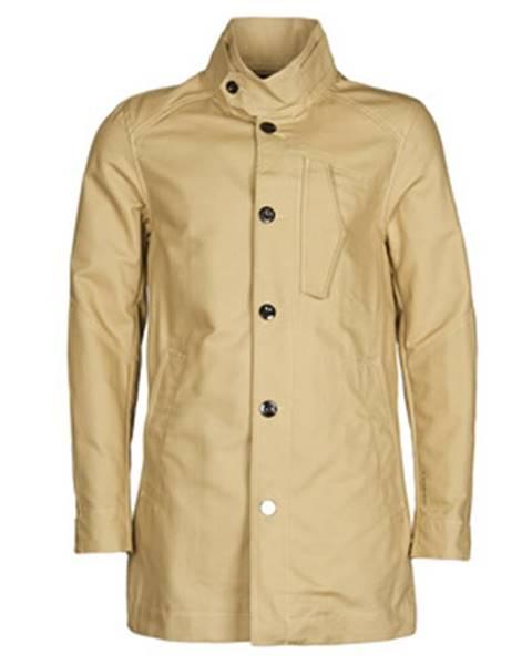 Béžový kabát G-Star Raw