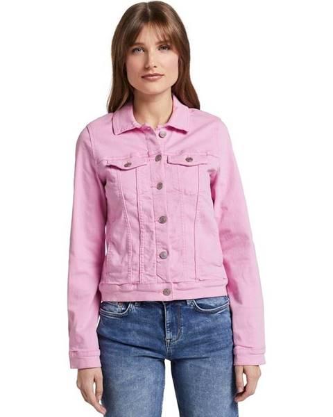 Ružová bunda Tom Tailor Denim