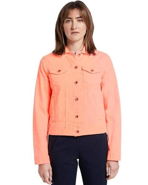 Oranžová bunda Tom Tailor