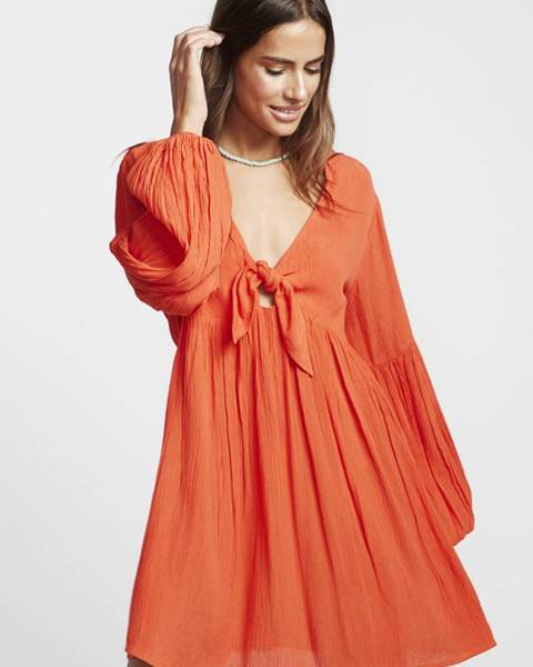 Oranžové šaty Billabong