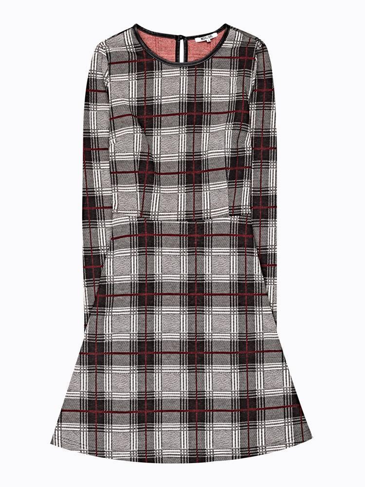 GATE Kárované šaty
