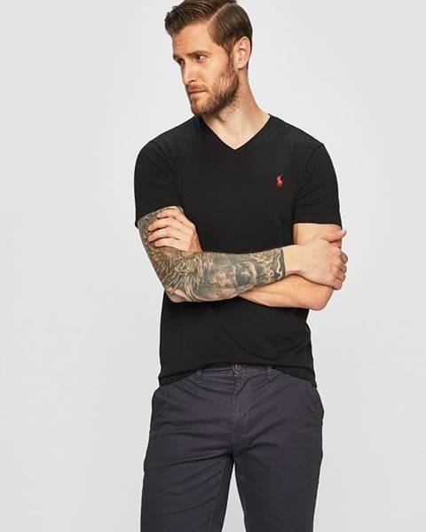 Čierne tričko Polo Ralph Lauren