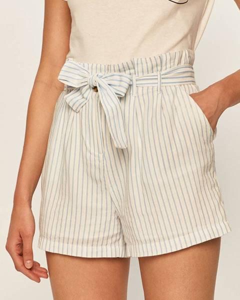 Biele šortky Vero Moda