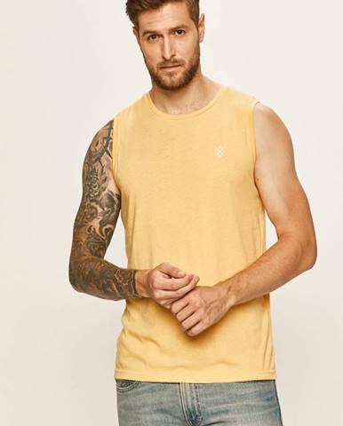 Žlté tričko Tom Tailor Denim