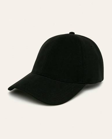 Čierna čiapka Lacoste