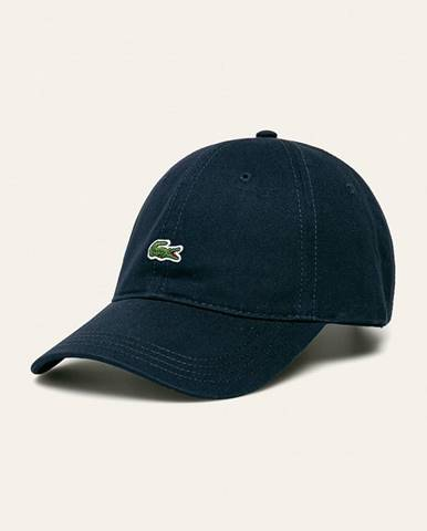 Tmavomodrá čiapka Lacoste