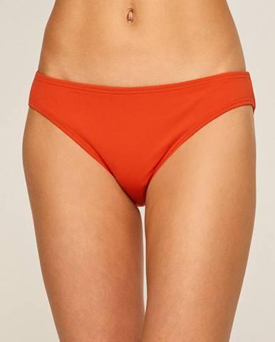 Oranžové plavky Michael Kors