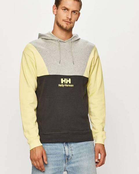 Sivá bunda s kapucňou Helly Hansen