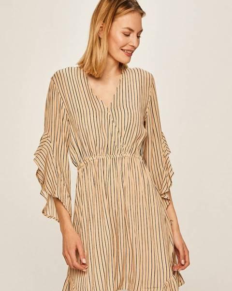 Béžové šaty Billabong