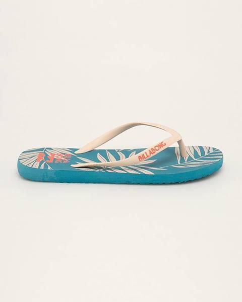 Tyrkysové sandále Billabong