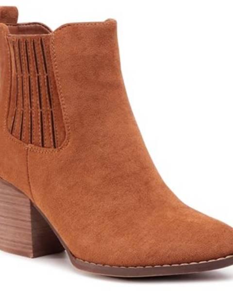 Jenny Fairy Členkové topánky Jenny Fairy WS19226-01 Materiał tekstylny
