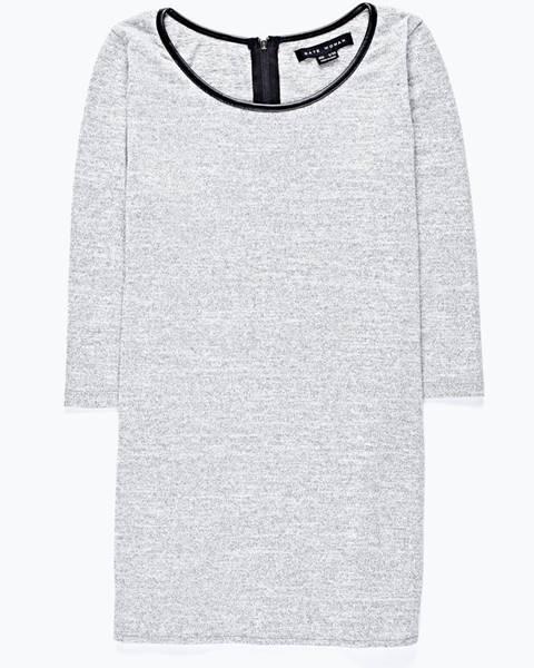 GATE Predĺžené tričko so zaobleným lemom