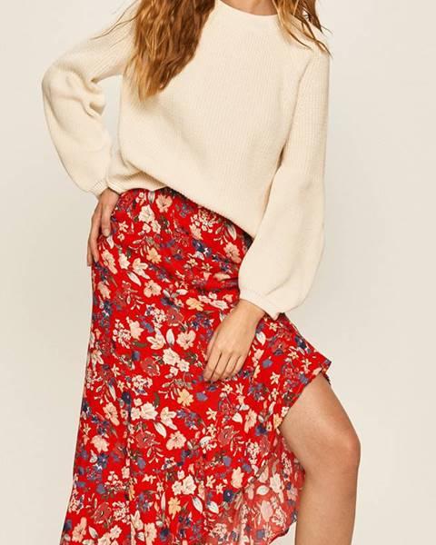 Červená sukňa Answear
